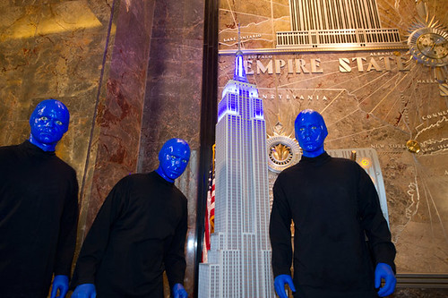 Blue Man Group at Empire State Building