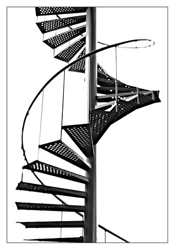 Spiral staircase 4 by leo.roos