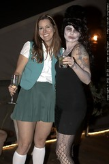 zombie amy winehouse on the deck with a tall girl sc…