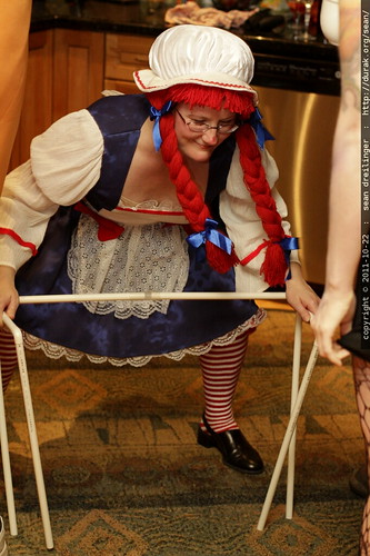 as the party winds down, raggedy anne needs a walker     MG 5886