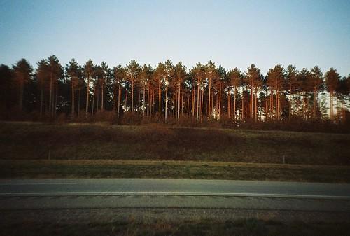october landscape, highway 29