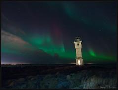 Old Lighthouse aurora