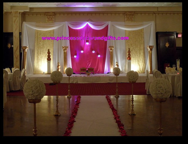 white indian wedding stage wedding invitations handmade ideas