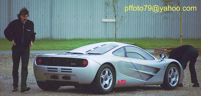 gordon murray ( mclaren designer ) and xp3 prototype mclar… | flickr