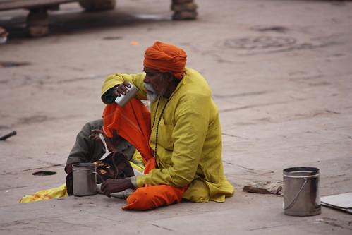 Varanasi, sadhu