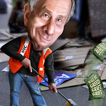 Michael Bloomberg - Cartoon