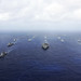 U.S. Navy and Japan Maritime Self-Defense Force ships are underway. by Official U.S. Navy Imagery