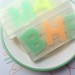 Alphabet Notepad Soap