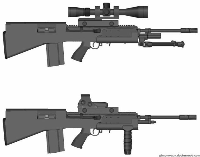 M14 Bullpup Variant | Flickr - Photo Sharing! M14 Bullpup