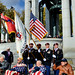 82nd Airborne Wreath Laying at WWII Memorial