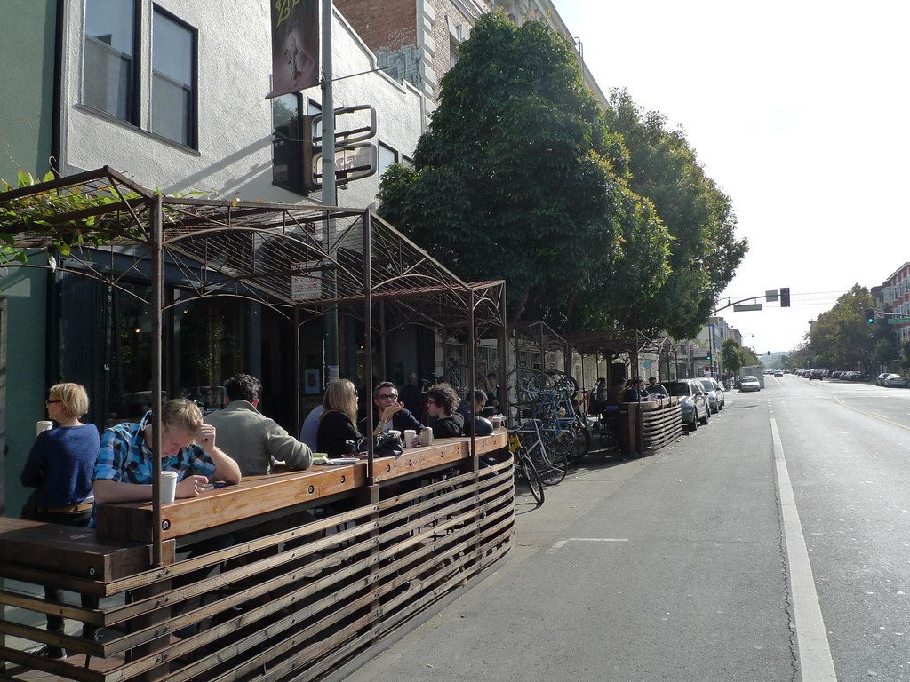 Four Barrel Coffee Parklet