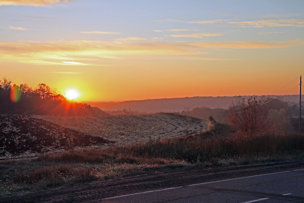 September Sunrise - Minnesota River - Henderson