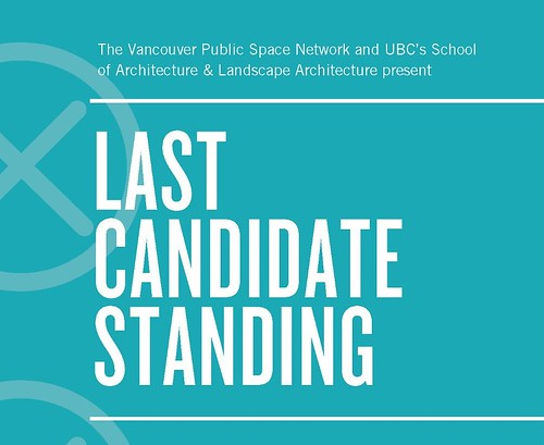 last candidate standing poster - detail