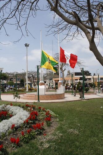 Flags raised at half mast for the El Santa victims