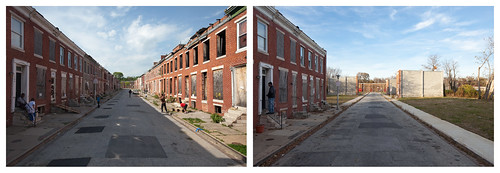 Perlman Place, Before and After City-Initiated Demolition