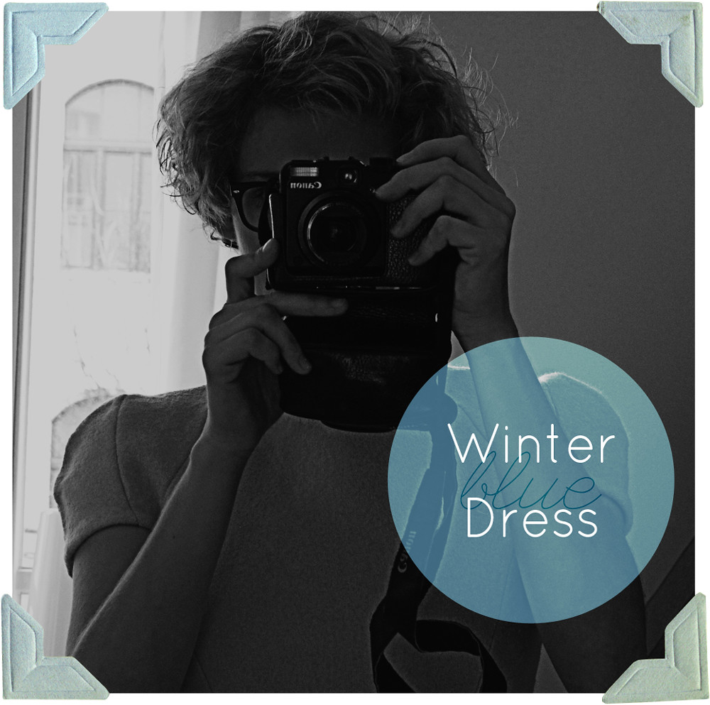 Blue Winter Dress