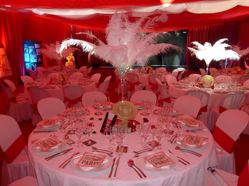 Favorit Decoration De Salle De Mariage En Rouge Et Blanc ~ Idées et d  OW28