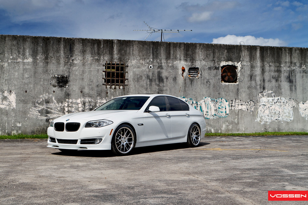 My F10 On Vossen Cv2s Bimmerfest Bmw Forums