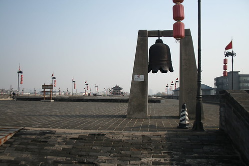 2011-11-18 - Xian - City wall - 36 - Ring wall - Northern bell