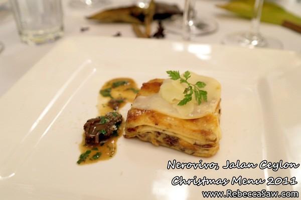 Nerovivo, Jalan Ceylon - christmas menu 2011-5