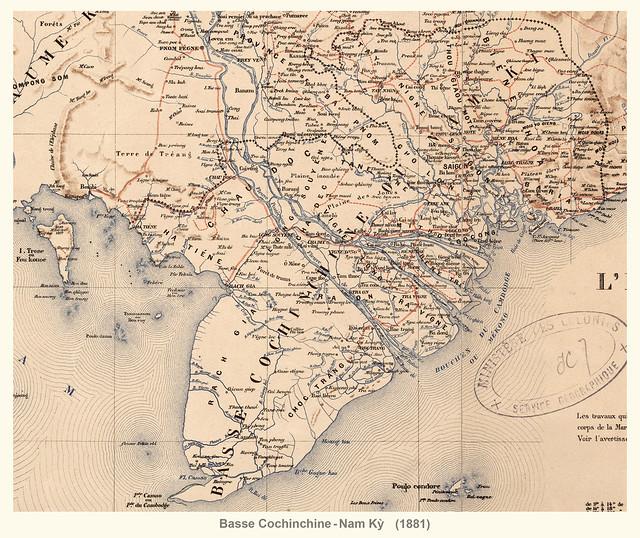 Vietnam 1881 - BASSE COCHINCHINE / NAM KY
