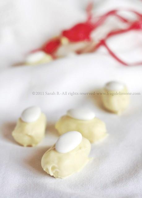 dolcetti al cocco e cioccolato bianco gluten free