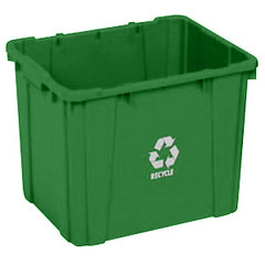green-continental-5914-2-curbside-14-gallon-recycling-bin