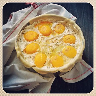 Happy weekend kuwait! I'm baking torta pasqualina for breakfast #ditutbaking