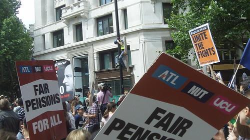 Public Sector Strike in Britain