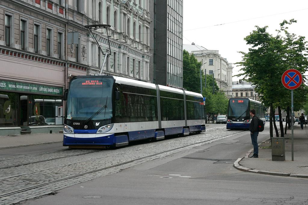 Rīgas Satiksme 57093 [Riga tram]