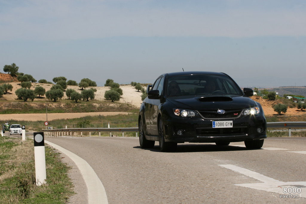 Subaru Impreza STi Sedan Vs Delta Integrale Martini 5 Vs Lancer EVO IX RS