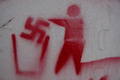 Anti-Nazi Graffiti - Rijeka, Croatia 2011