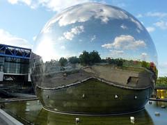 Parc de la Villette : la Géode