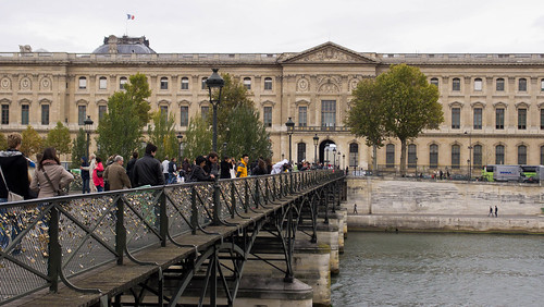 Paris Pont des Arts Bridge