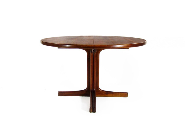 Danish Modern Teak Dining Table Vintage Teak Wood Dining O