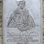 The Memorial to Thomas Müntzer in Frose