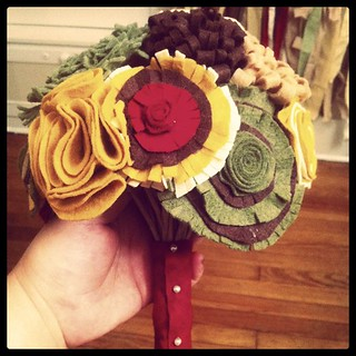 Bouquet is done!