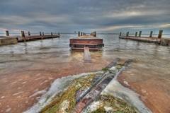 water, sea, river, ocean, wave, shore, pier, coast, waterway,