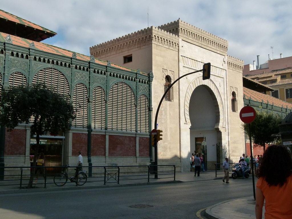Puerta De Atarazanas De Malaga Malaga Arte Y Patrimonio