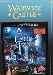 Warwick Castle - The Haunted Castle Halloween, 23rd October 2011.