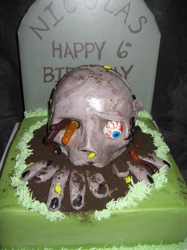 Zombie Cake by Cake Maniac