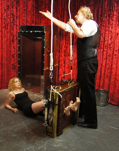 Houdini's Chinese Water Torture Cell