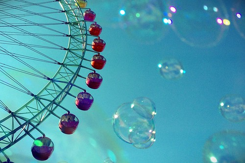Bubbles &Ferris wheel