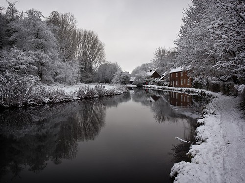 River Itchen in Winchester