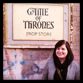 So this is where I was today! I sat on the iron throne and visited the Eyrie! Eeeee <3