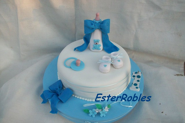 Torta Bautismo y Primer añito | Flickr - Photo Sharing!