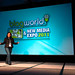 Amber Naslund's BlogWorld Keynoteb by CC Chapman