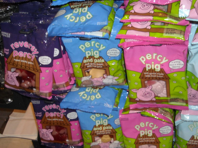 Percy pig sweets mmm