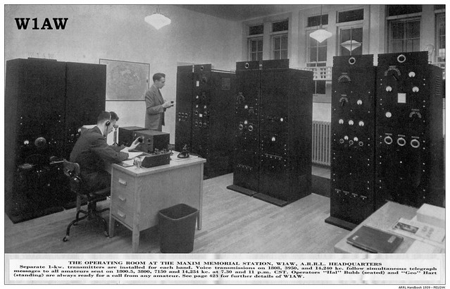 ... the primary operating station of the American Radio Relay League (ARRL).