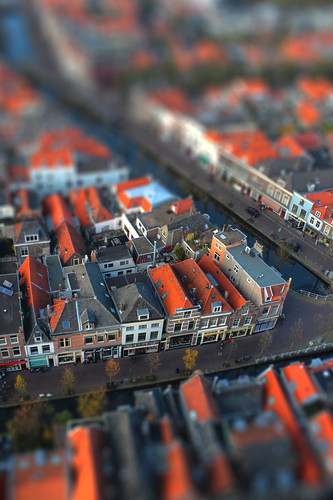 View of Delft, Netherlands